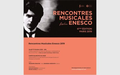 Teodora invited to sing Enescu in Paris!