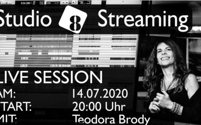 Live Streaming – 14th of July 2020 – 20:00 CET – Teodora Brody